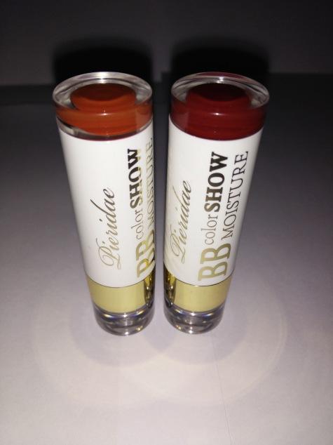 BB Color Show Lipsticks